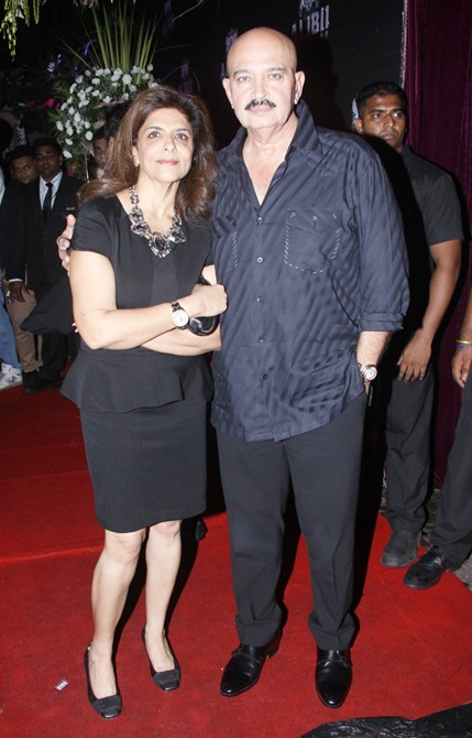 Pinky and Rakesh Roshan