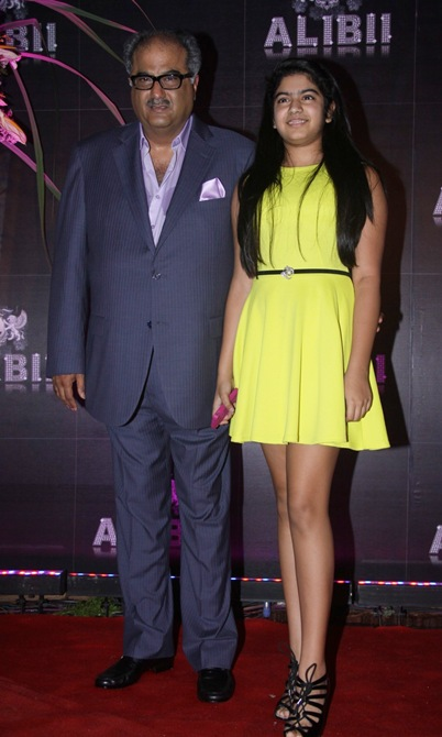 Boney Kapoor and Khushi