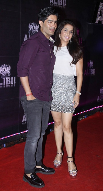 Manish Malhotra and Krishika Lulla