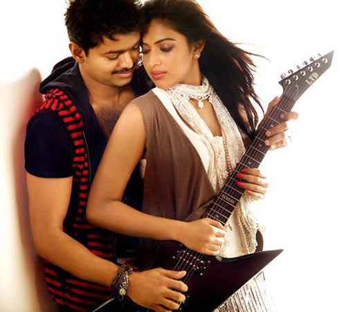 Vijay and Amala Paul in Thalaivaa