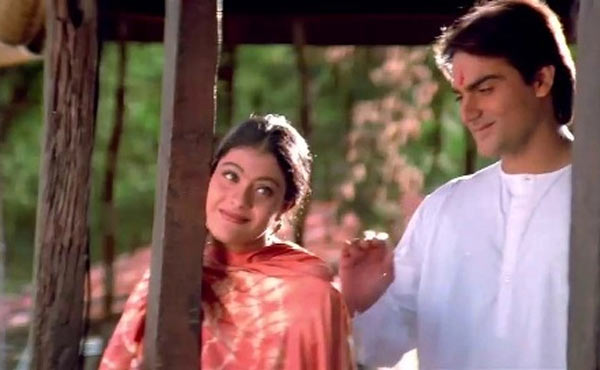 Kajol and Arbaaz Khan in Pyaar Kiya Toh Darna Kya