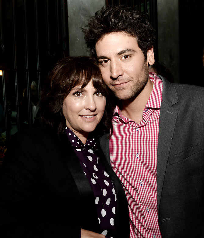 Josh Radnor with Jill Soloway