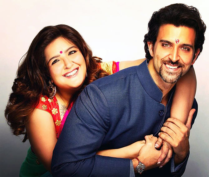 Sunaina and Hrithik Roshan