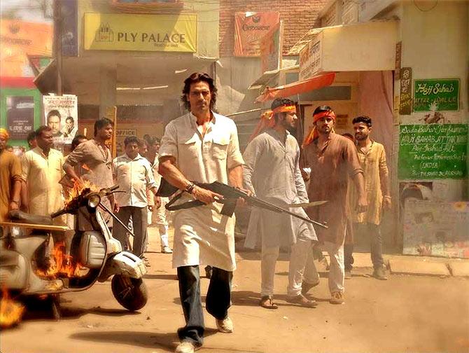 Arjun Rampal in Satyagraha