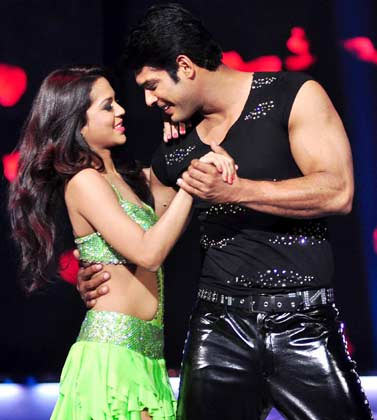 Sana Saeed and Siddharth Shukla