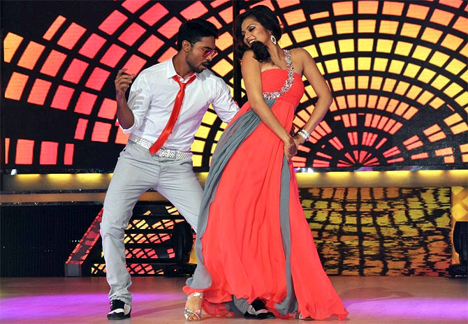 Drashti Dhami and Salman Yusuff Khan