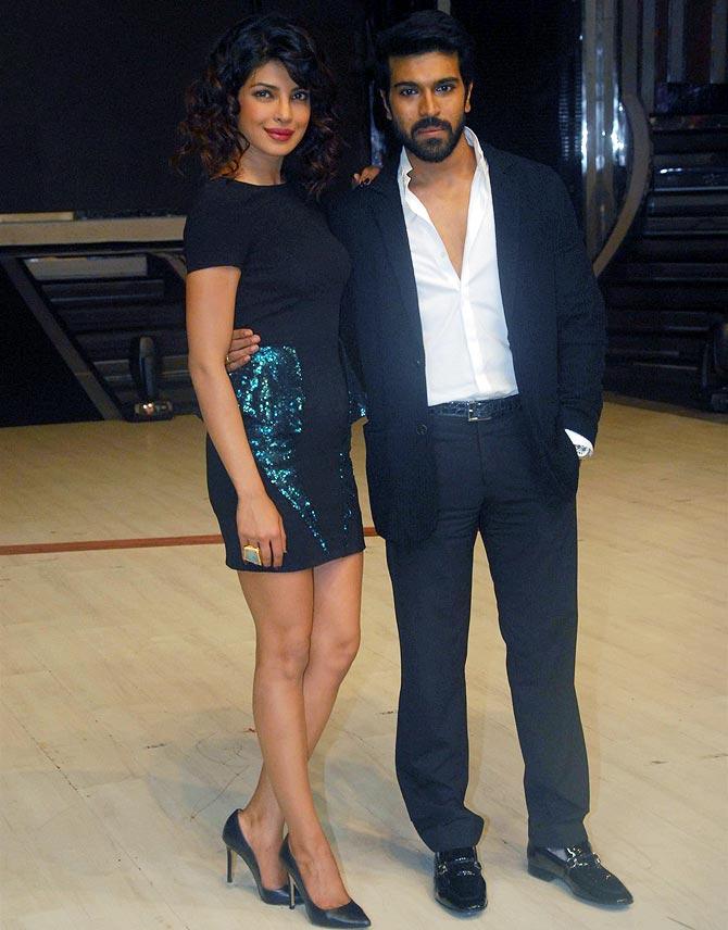 Madhuri Dixit and Priyanka Chopra