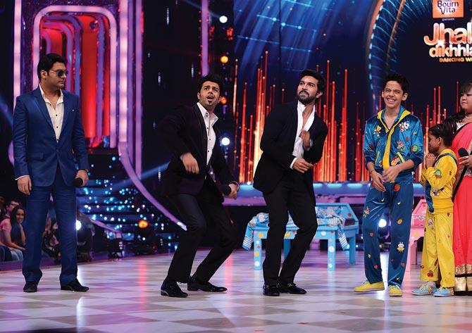 Kapil Sharma, Manish Paul, Ram Charan