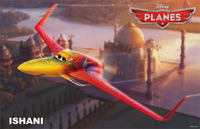 Ishani, Priyanka's character in Planes