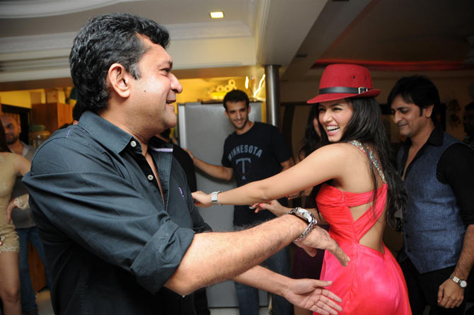 Ken Ghosh and Sana Khan