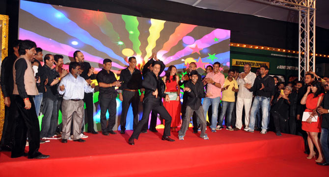 The Chennai Express team