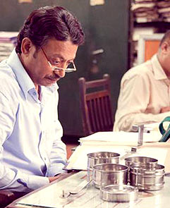 Irrfan in a still from The Lunchbox