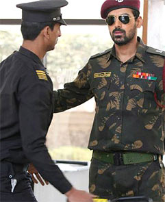 John Abraham (right) in Madras Cafe