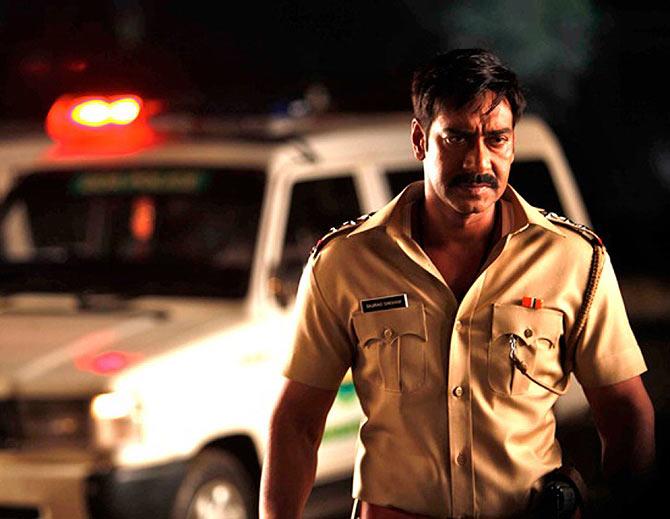 Ajay Devgn in Singham