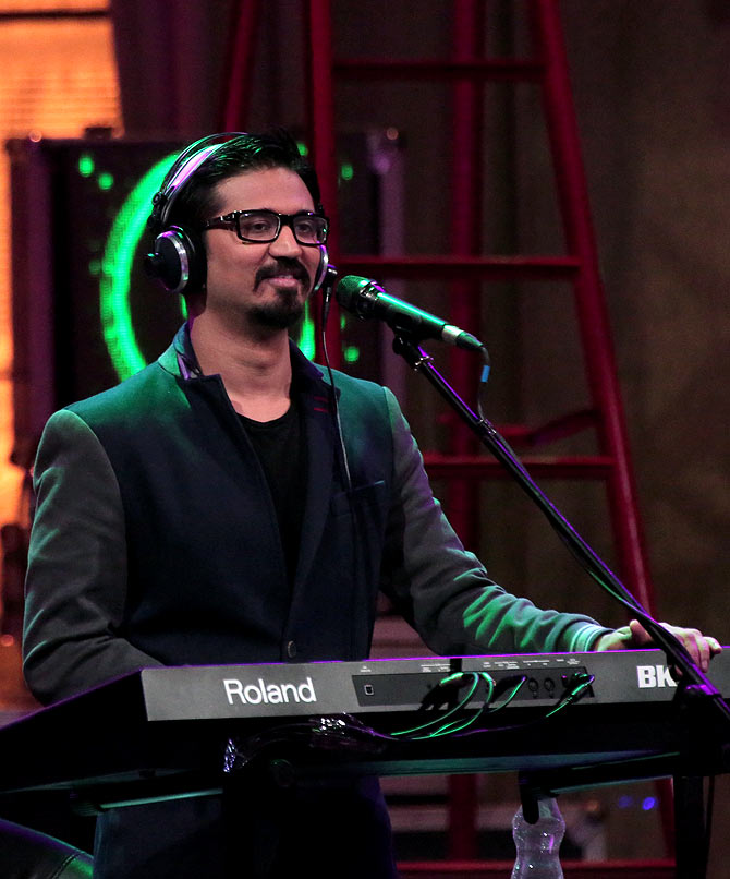 Amit Trivedi records for Coke Studio@MTV.