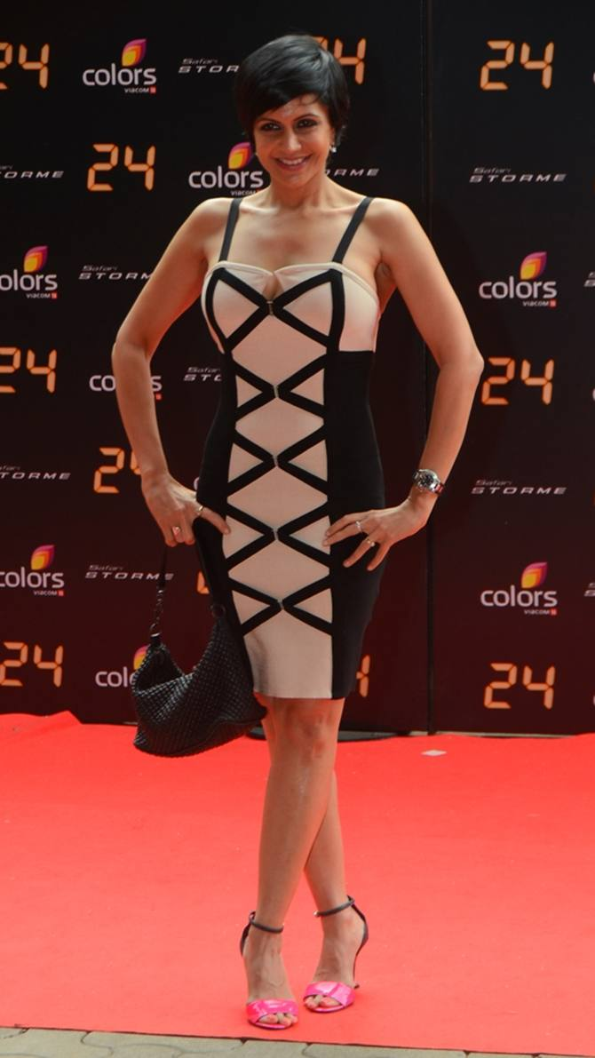 Mandira Bedi at the 24 trailer launch