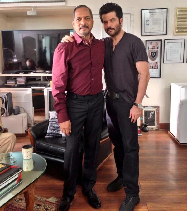 Nana Patekar and Anil Kapoor