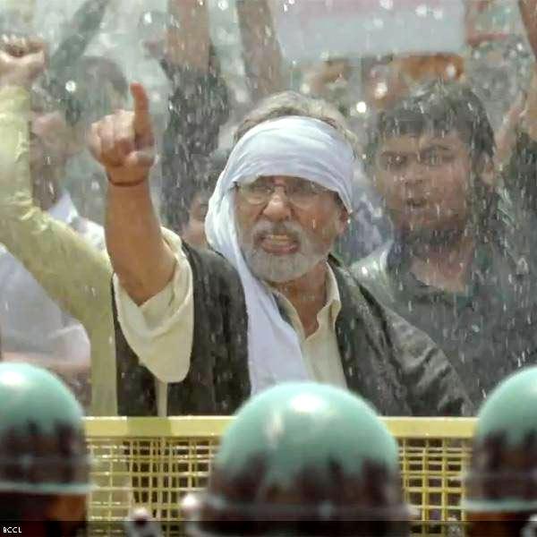 Amitabh Bachchan in Satygaraha