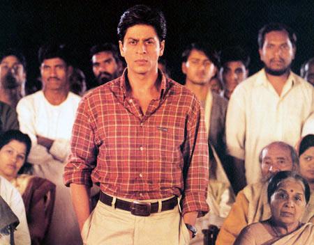 Shah Rukh Khan in Swades