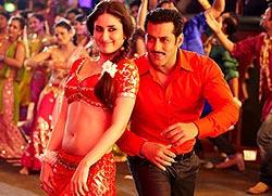 Kareena Kapoor and Salman Khan in Dabangg 2