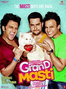 The Grand Masti poster