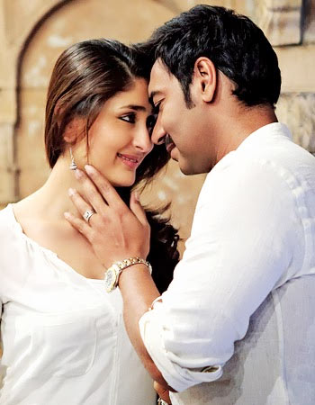 Kareena Kapoor and Ajay Devgn in Satyagraha