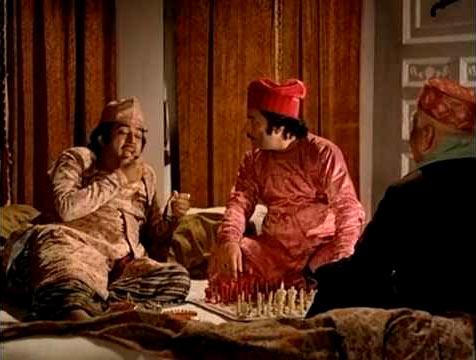 A scene from Shatranj Ke Khiladi