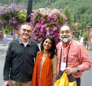 Danny Boyle, Nandita Das and Prabha Sinha