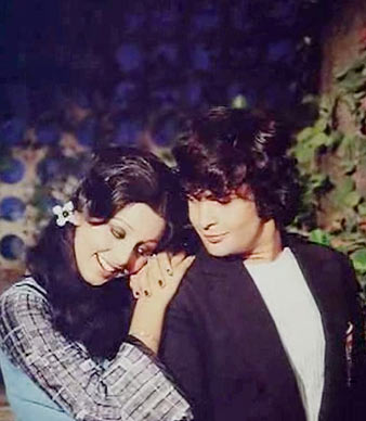 Neetu Singh and Rishi Kapoor in