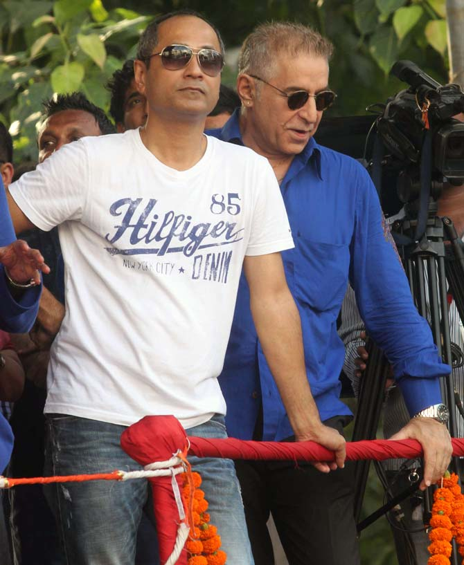Vipul Shah and Dalip Tahil