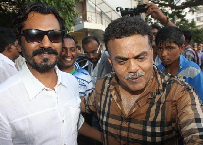 Nawazuddin Siddiqui and Sanjay Nirupam