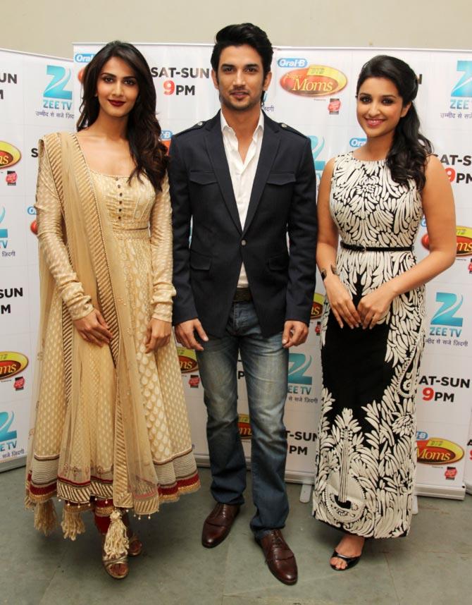 Vaani Kapoor, Sushant Singh Rajput, Parineeti Chopra