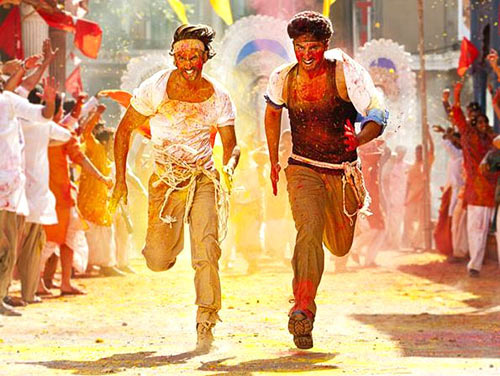 Ranveer Singh and Arjun Kapoor in Gunday