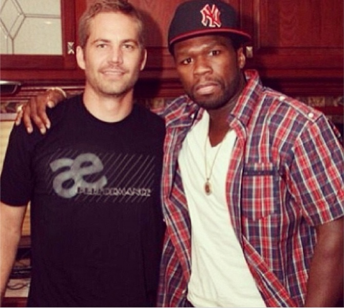 Paul Walker and 50 cent