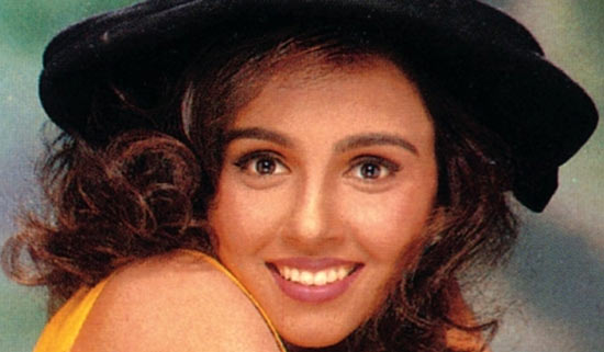 Suchitra Krishnamoorthi in a video for her pop album, Dole Dole.