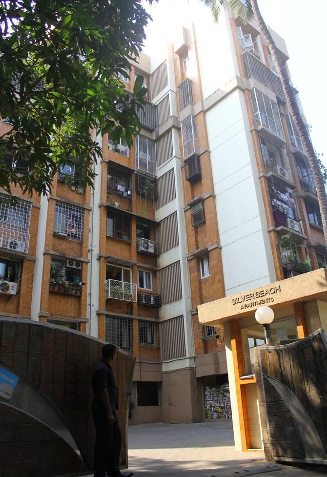 Silver Beach Apartments, Alia Bhatt (inset)
