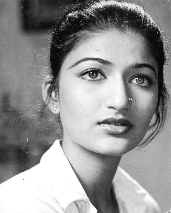 Sarika, in her younger days