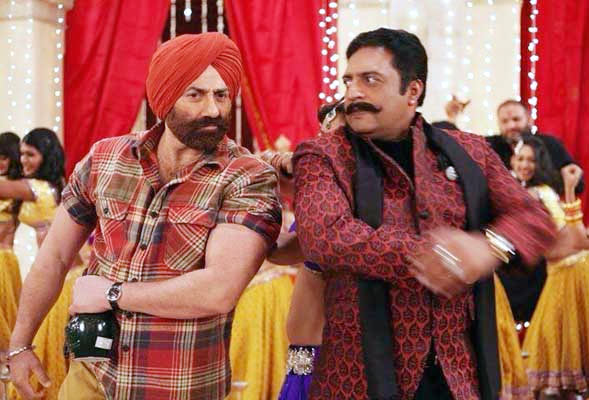 Sunny Deol and Prakash Raj in Singh Saab The Great