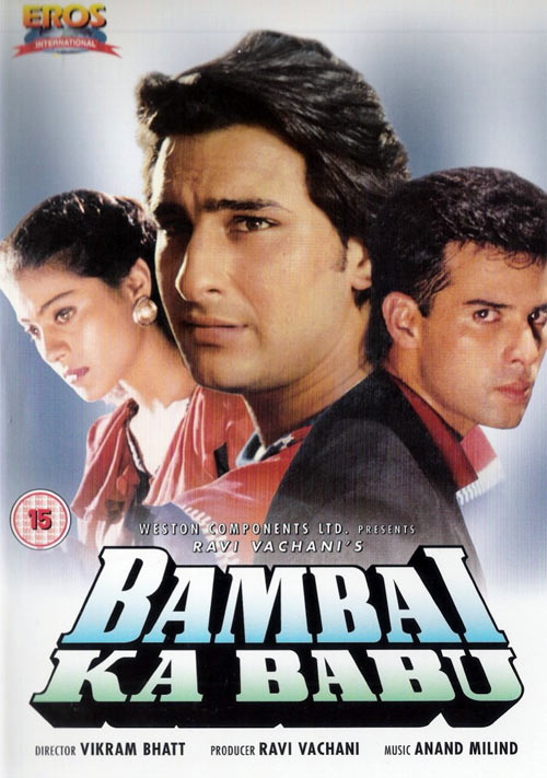 Movie poster of Bambai Ka Babu