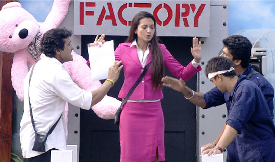 A scene from Bigg Boss 7