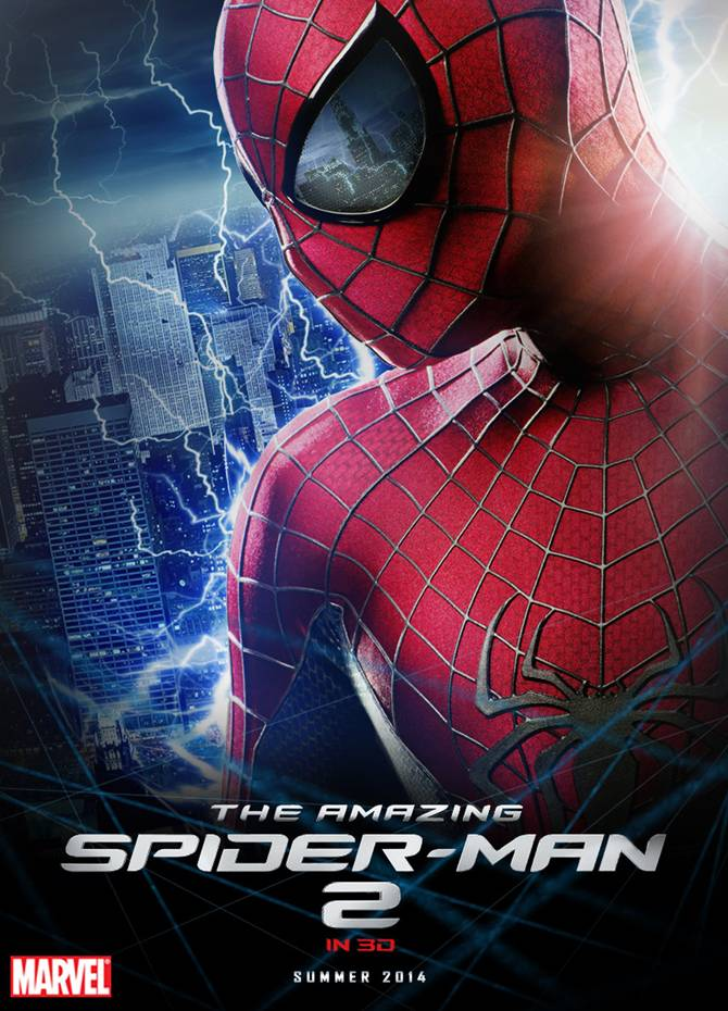 Movie poster of The Amazing Spiderman 2