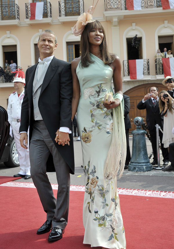 Vladimir Doronin and Naomi Campbell