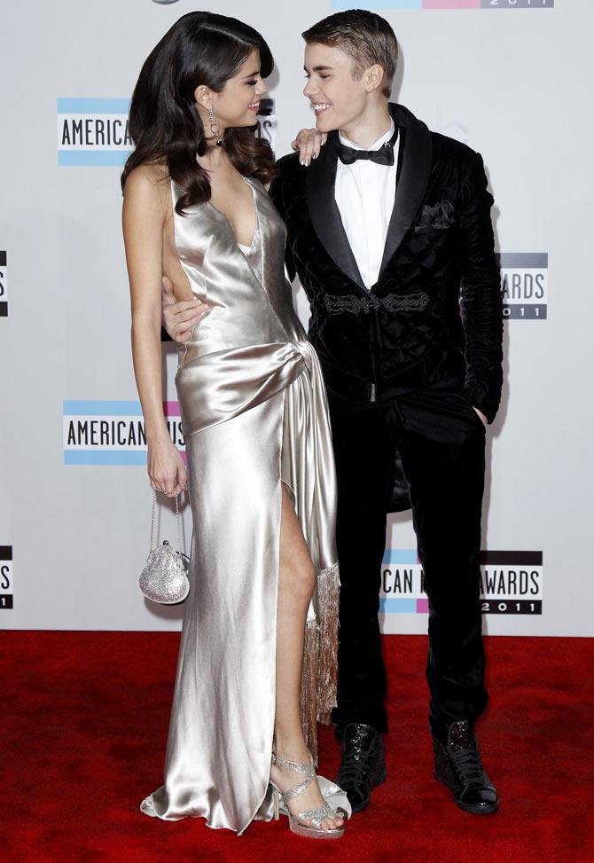 Selena Gomez and Justin Beiber