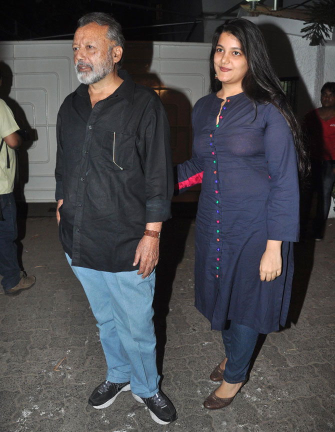 Pankaj and Sanah Kapoor