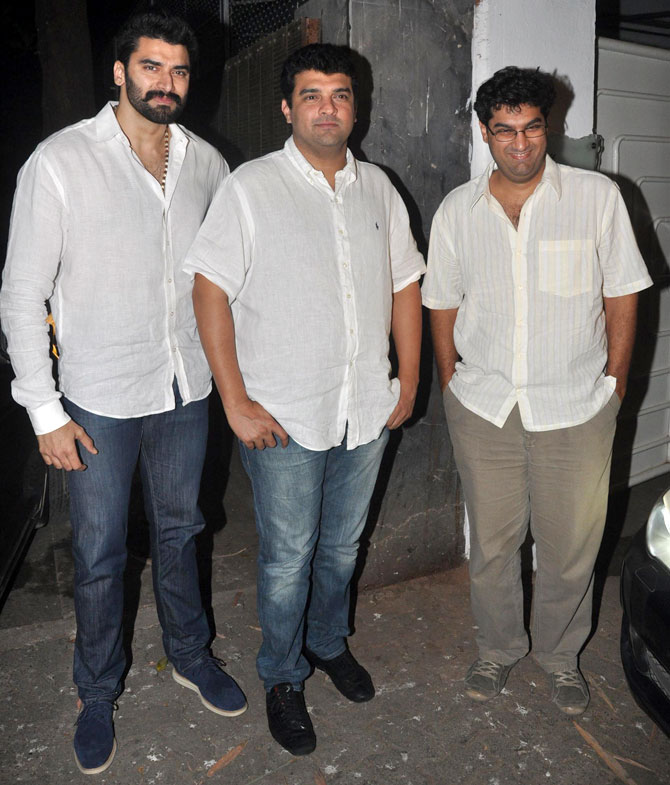 Rana Daggubati, Siddharth and Kunaal Roy Kapur