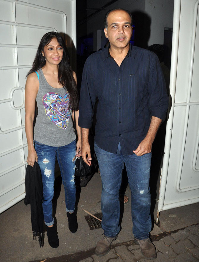 Ashutosh Gowariker with Sunita