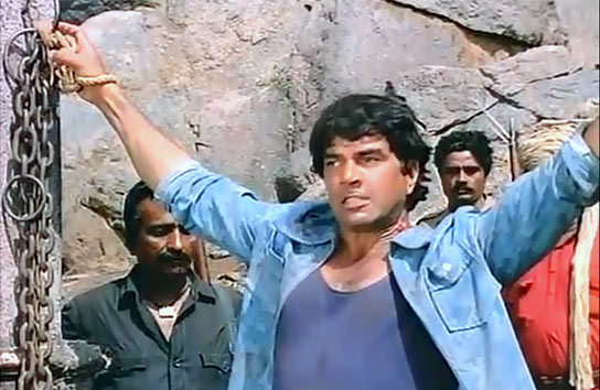 Dharmedra in Sholay