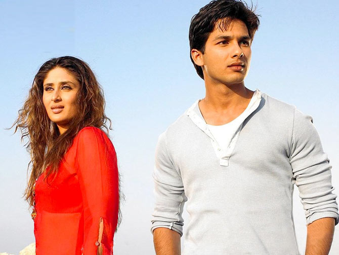 Shahid and Kareena Kapoor in Milenge Milenge