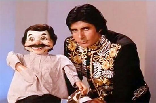 Amitabh Bachchan in Jaadugar