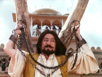 Saeed Jaffrey in Ajooba